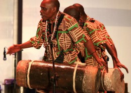An immersion in the infectious rhythms and grooves of African culture with African dance, music and storytelling.