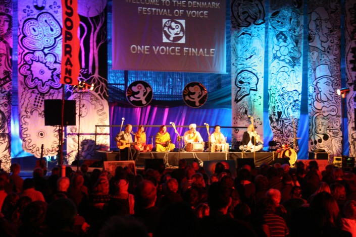20 years of turning ideas into spectacular realities like the Denmark festival of voice in 2010.