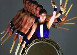 This Japanese drum group are as impactful as they come and their performances are a spectacular visual display of stamina and strength.