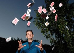 This artist has been weaving his magic for 10 years performing at major events in Melbourne.